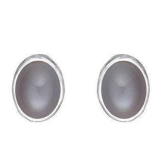 Rabinivich 50916554, Silver earrings with moonstone
